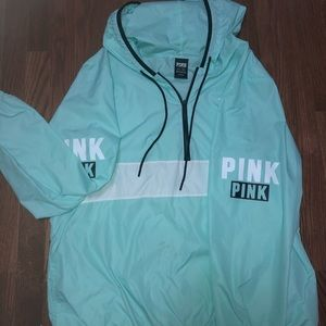 Victoria secret pink half zip up